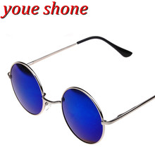 youe shone Europe and the United States retro sunglasses Fashionable man and woman colorful sunglasses
