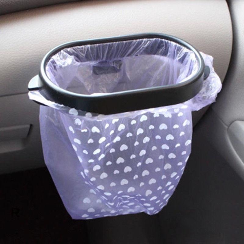 1X Car Rubbish Bin Trash Bag Frame For Mazda 3 6 Cx-5 Renault Duster For Renault Bmw E39 Kia Rio Audi A4 B6 Golf 6 Skoda