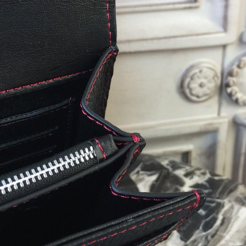 À Designer Cuir Célèbre Piste Véritable 100En Bandoulière Pour bleu Wc0146 Marque Sacs Main De Luxe Femmes Noir QErdCexBoW
