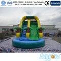 2016 Moda Childrenn de Juegos de Agua Inflable de Diapositivas Para de Interior