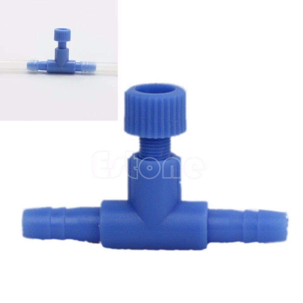 1/20 pcs 4mm Aquarium Fish Tank Adjust Air Line Tubing Volume Flow Control Valves Water Pumps Fish & Aquatic Pet Supplies