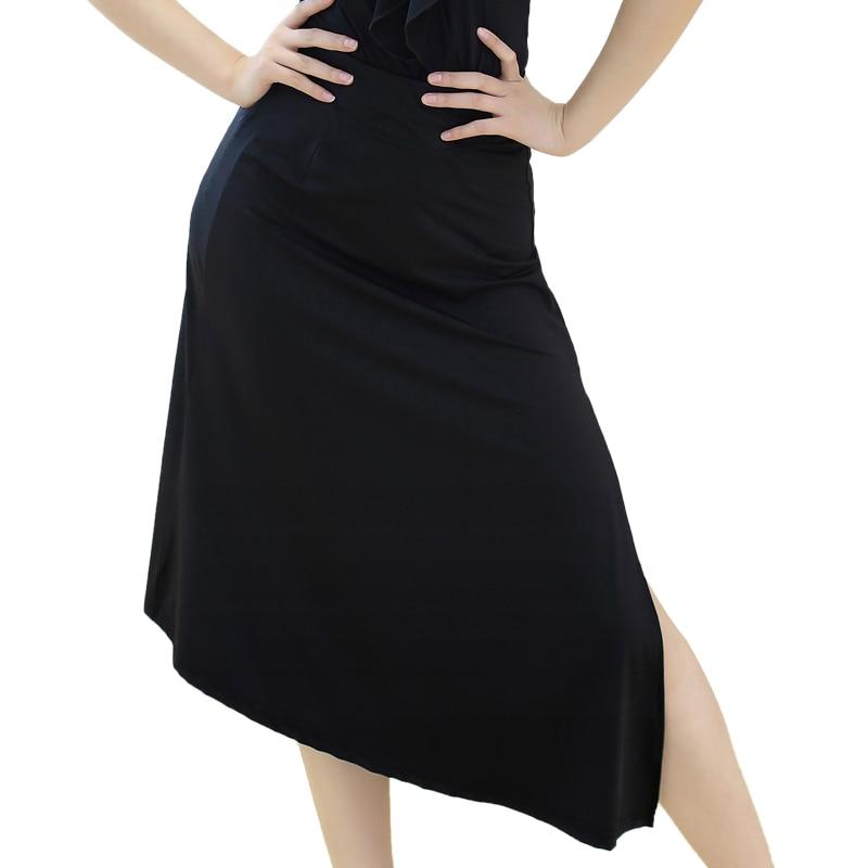 Dance Practice Suit Latin Dance Tight Skirt New Style Women Dancing Slim Slit Skirt Practice Performance Dress DQT1063