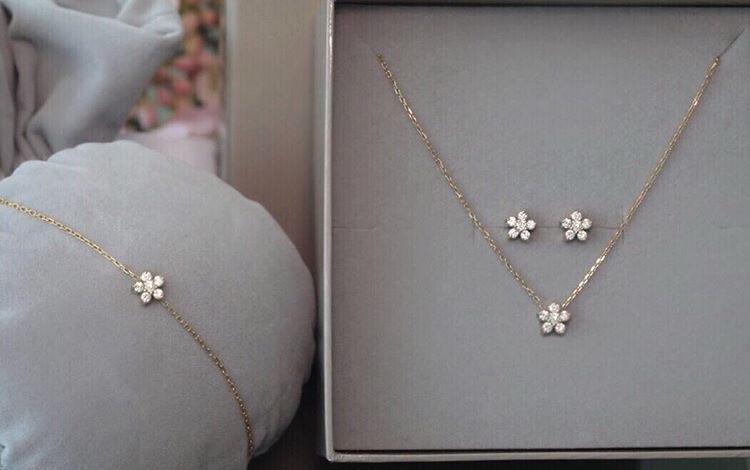100 pièces cristal de luxe nuptiale bijoux ensemble de mode Rose fleur émail bijoux ensemble or couleur bijoux ensembles pour femmes demoiselle d'honneur