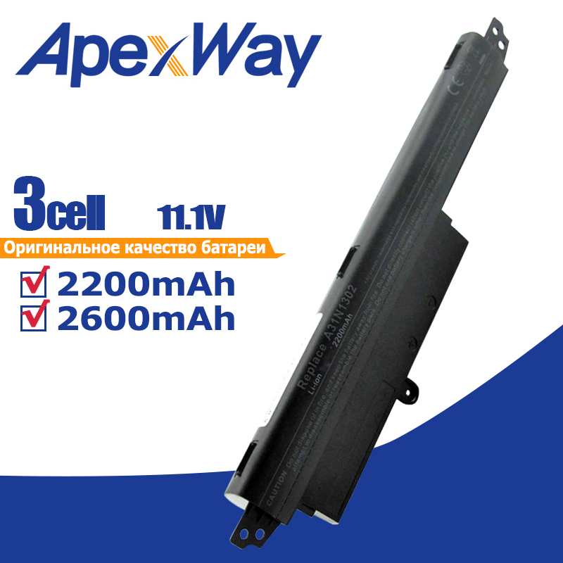 11.25v Laptop Battery A31N1302 A31LM9H for Asus VIVOBOOK <font><b>X200CA</b></font> F200CA 11.6