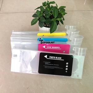 Image 3 - Nieuw type 220 ml refill inkt cartridge voor Roland Mimaki Voor Mutoh CISS inkt cartridge met trechter