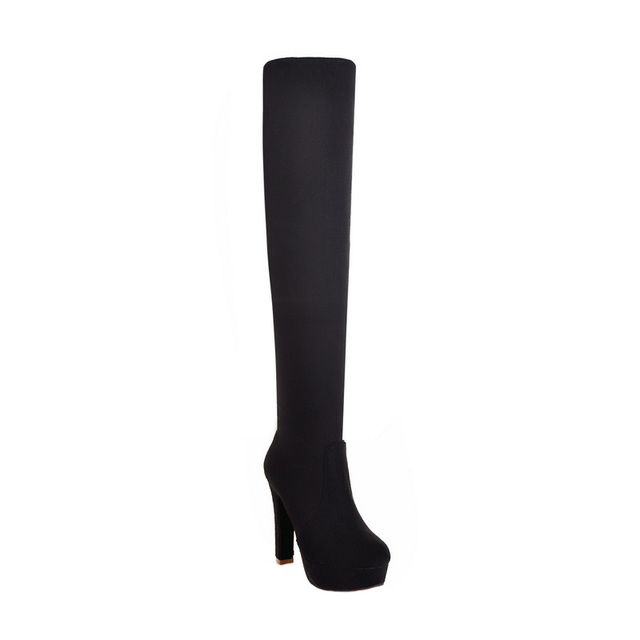 Thin Over the Knee Boots
