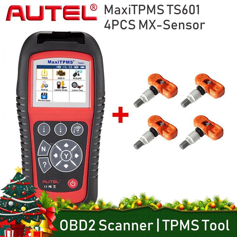 AUTEL MaxiTPMS TS601 Della Pressione DEI Pneumatici TPMS Attivatore di Attivazione Completo TPMS Strumento di Programmazione di Monitoraggio Dei Pneumatici Sistema di Scanner Strumenti