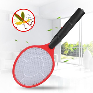 Image 4 - Home Electric Fly Mosquito Swatter Mosquito Killer Bug Zapper Racket Insects Killer Cordless Battery Power Mosquito Trap Swatter