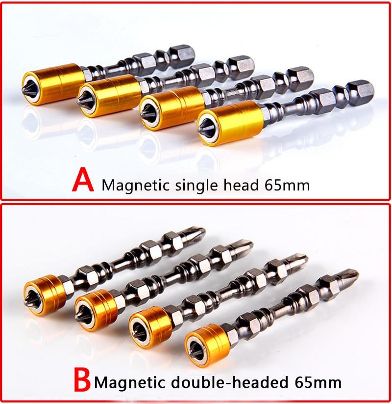 Wysokiej jakości 2 szt. 65/110 mm Elektryczne wkrętaki magnetyczne - Narzędzia ręczne - Zdjęcie 2