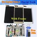 Pantalla LCD + Asamblea de Pantalla Táctil Digitalizador de alta Calidad Para Xiaomi Hongmi Redmi Nota 3 Note3 Teléfono Móvil 5.5 Pulgadas Con marco
