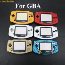 ChengHaoRan 6 Colors 1x DIY Full set housing shell cover case w/ conductive rubber d pad buttons for GameBoy Advance GBA console стоимость