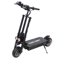 NANROBOT R11 Powerful 11'' Adult Scooters 60V 38AH 3600W Motor Allow Top Speed 85KM/H and 100KM Electric 2 Wheel kick e Scooter