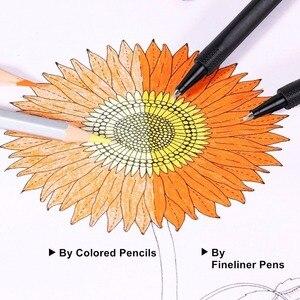 Image 5 - 26 kleuren Fineliner Pennen 0.4mm Ultra Fijne Tip Gekleurde Pen Aquarel Gebaseerd Micron Inkt Marker Pen Set Perfect voor schets Tekening