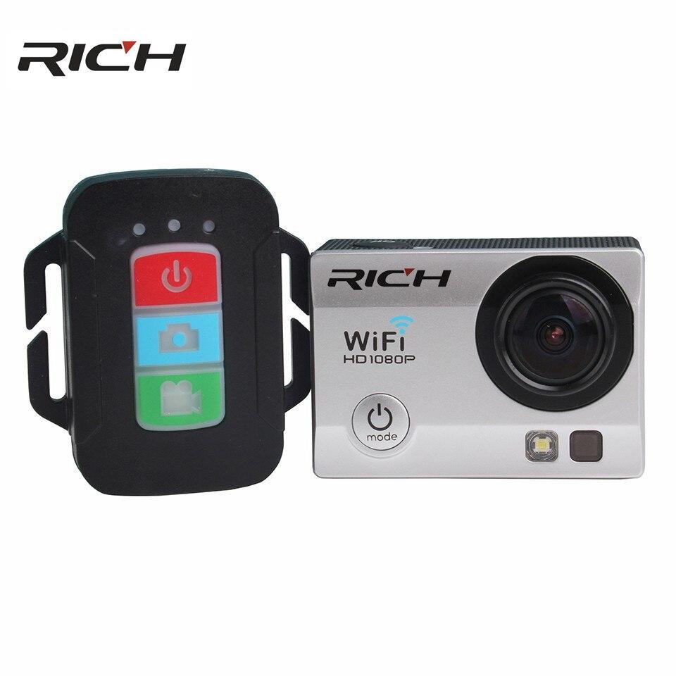 SJ8000R Action camera Ultra HD 4K 24fps WiFi NTK96660 2.0 inch 16MP 170D Len Helmet Waterproof 30M Extreme Sport Camera add card цены