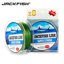 Super Strong 8 stands 150M PE Braided Fishing Line 10-80LB Multifilament Fishing Line Carp Fishing Saltwater