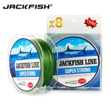Super Kuat 8 berdiri 150M PE Jalinan Fishing Line 10-80LB Multifilamen Fishing Line Carp Fishing Saltwater