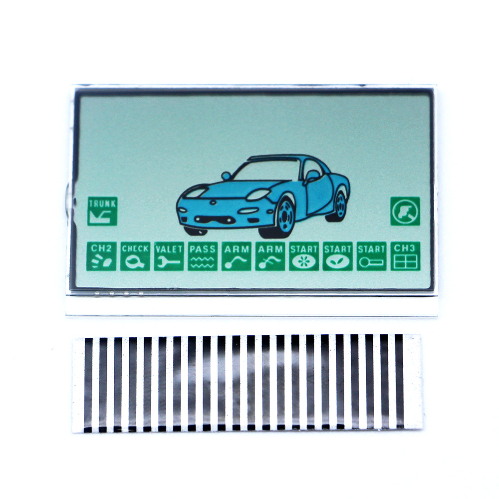 Free shipping A9 LCD display flexible lcd cable for Starline A9 remote controller car A9 LCD