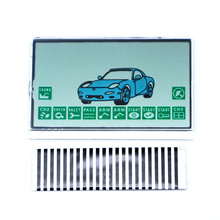 Free shipping A9 LCD display flexible lcd cable for Starline A9 remote controller car A9 LCD display flexible cable