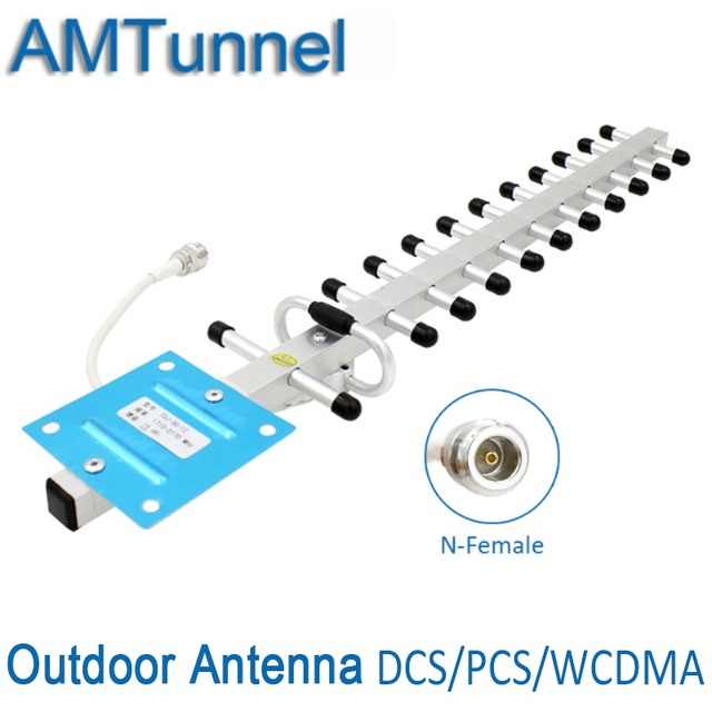 US $22 13 |3G 4G antenna 3G yagi antenna 4G 3G outdoor antenna 15dBi 4G LTE  external antenna with N female for Signal Repeater Booster-in Antennas for