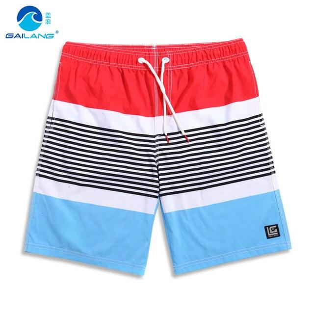 Крышка волна летний пляж брюки мужчины быстро сухой большой код расслабленной случайные шорты Beach Resort мужской купальный костюм