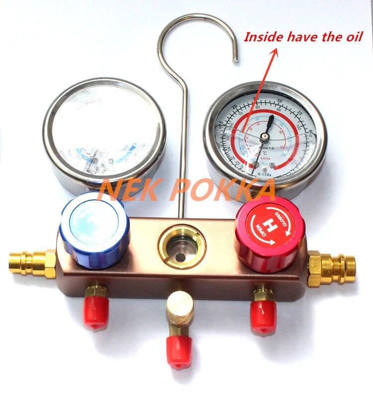 충전 냉매 압력 게이지, 134A R410A R22 R404A 냉매 측정 - 자동차부품 - 사진 2