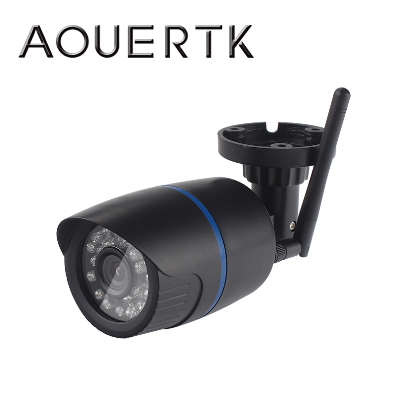 AOUERTK 720P/1080P Audio Record ONVIF wifi Camera WIFI security Bullet Monitor Waterproof Camera SD Card slot APP ICSEE image