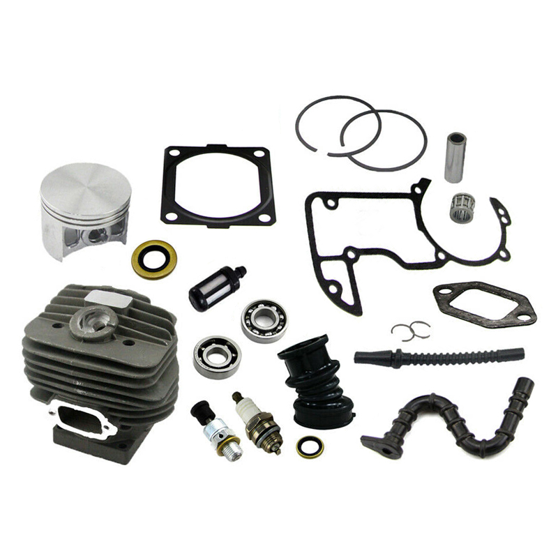 Anneau cylindre piston kit accessoires de remplacement tronçonneuse pièces jardin outils de plein air roulement joint de haute qualité