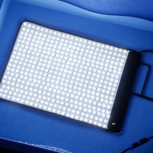 Image 2 - FalconEyes LED Video Film Studio Photographic Light 34W/62W 5600K Dimmable Flexible Portable Continuous RX 12T/RX 18T kit set