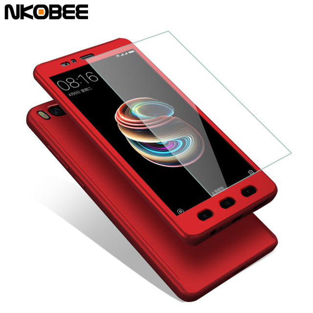 new arrival c9a8f 5de22 US $4.94  NKOBEE For Xiaomi Mi A1 Mi 5X Case 360 Full Protection Cover For  Mi A1 Case Luxury Shockproof Case For Xiaomi Mi5X Mi 5X Cover-in Fitted ...