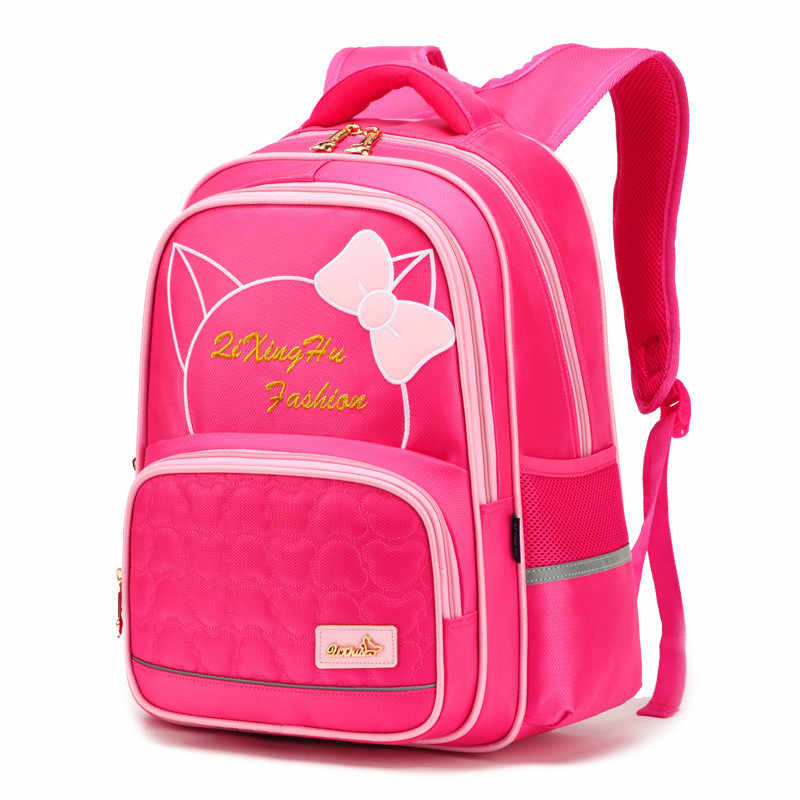 2019 children school bags girls boys kids orthopedic backpack primary cat school backpack schoobag kids satchel mochila infantil