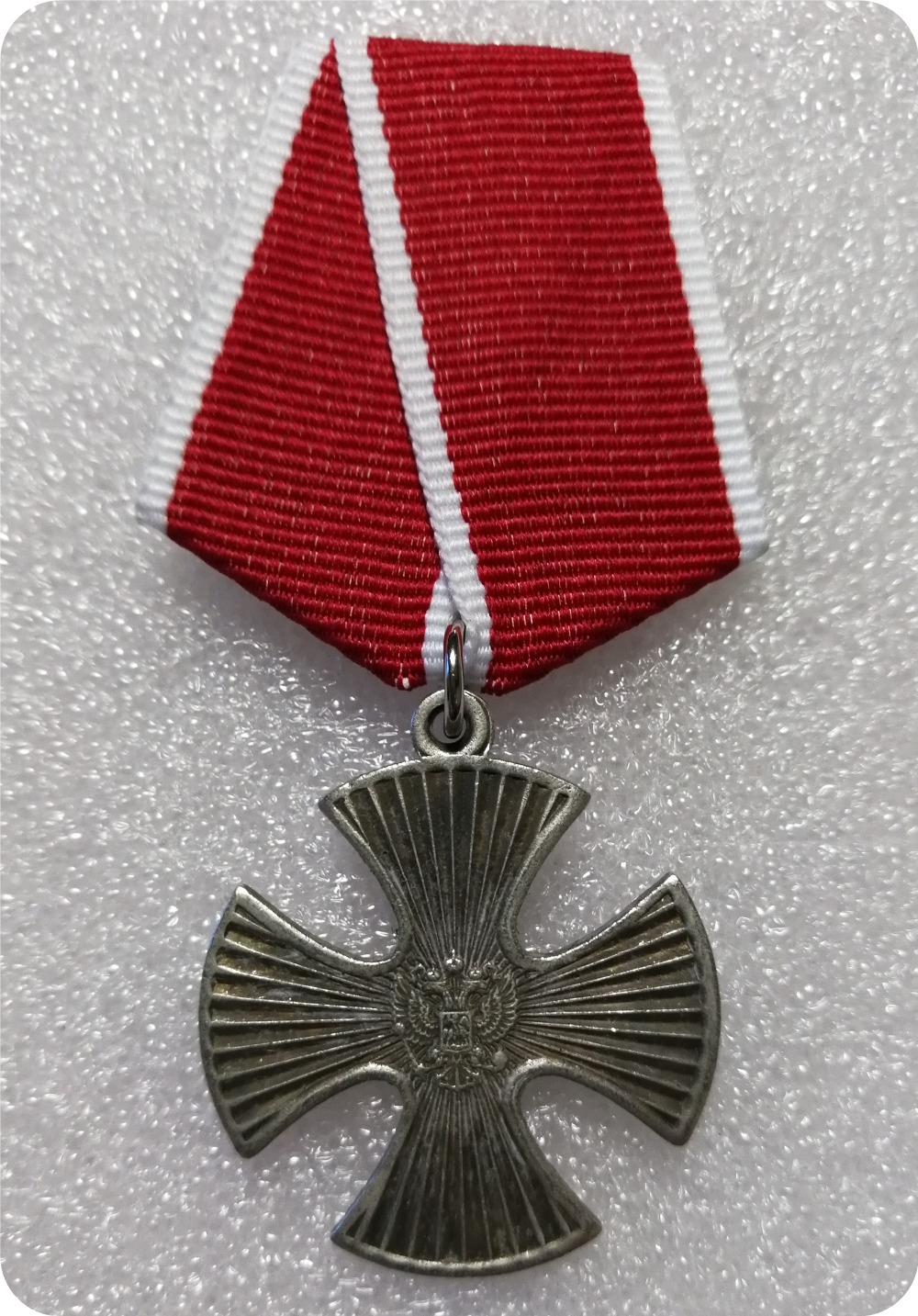 RUSSIAN FEDERATION RARE ORIGINAL ORDER OF COURAGE # 16.098 FOR FIRST CHECHEN WAR