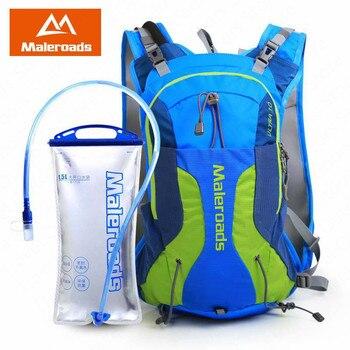 Maleroads mochila de Camping para correr ultraligero Trail Cross-country Running bolsa maratón accesorios bolsa de agua ciclismo senderismo
