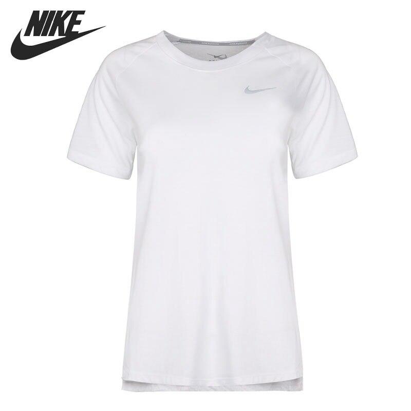 Original New Arrival 2018 NIKE TAILWIND TOP SS Women's T-shirts short sleeve Sportswear футболка беговая nike dri fit cool tailwind stripe short sleeve top