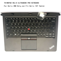 New original Helix Ultrabook Keyboard For ThinkPad X1 Helix(Type 20CG, 20CH) Laptop FR FRA FRU 00HW411 4X30G93863 SM10F58161AA
