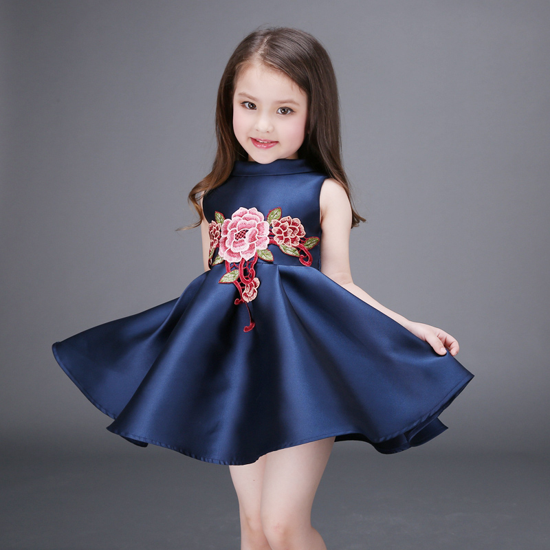 Sodawn Sodawn NEW Baby Girls Dress Birthday Party Flower Girl Christening Wedding Party Pageant Dress kids Clothing new 2016 fshion flower girl dress kids clothing party wedding birthday girls dresses baby girl white pink rose dress