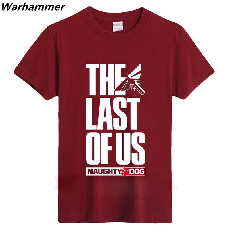 The Last Of Us Men T shirt The Last Survivor Gamers Short Sleeve Tshirts Fashion Style O-neck S-XXXL Cotton Printed Pattern Tees ...