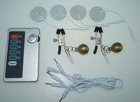 Elektro şok meme kelepçe klip seks oyuncak elektrikli göğüs masseger fizik tedavi yetişkin ürünleri