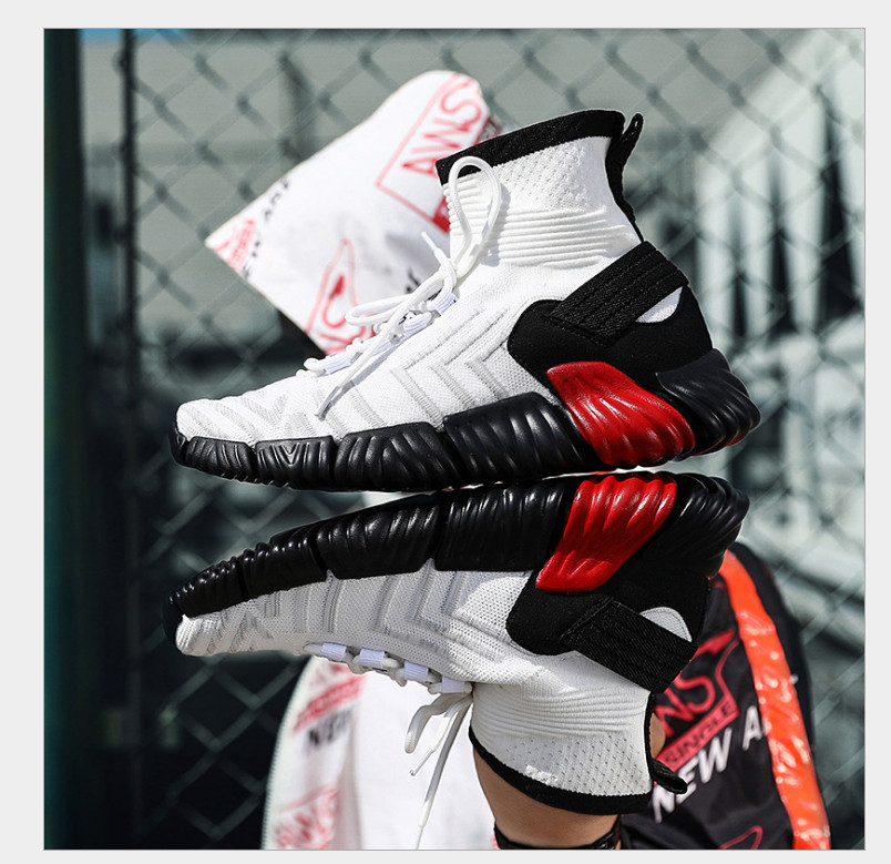 2018 autumn basketball shoes couple with slip wear-resistant basketball shoes free shipping factory wholesale
