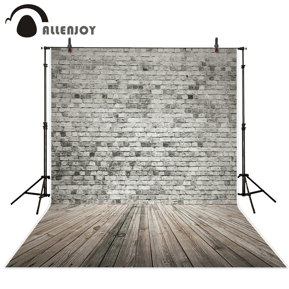 Alllenjoy photo background photography vintage backdrops brick wall old gray brick wall background for photo studio professional