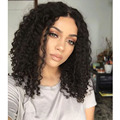 Fashion Style Malaysian Virgin Hair Short Curly Wig Glueless Full Lace Wigs Unprocessed Kinky Curly Lace Front Human Hair Wigs