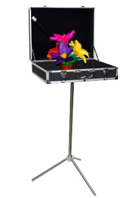 Black Magic Trunk Boutique tables,carrying case (47.5*36*13cm) - magic trick,stage magic,accessories,gimmick,prop got it covered umbrella magic magic trick magic device stage gimmick illusion card magic