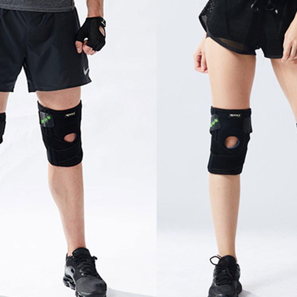 2018 New Sports activities Knee Pads Out of doors Climbing Biking Health Basketball Sporting Items Adjustable Protecting Gear Working HTB1BLQSmHZnBKNjSZFrq6yRLFXar