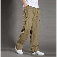 Мужские повседневные штаны размера плюс XXL XXXXL 6XL Комбинезоны Новое поступление тактические армейские военные брюки карго мужские брюки