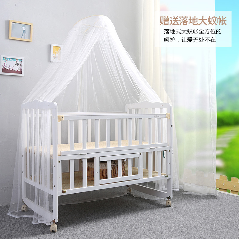 Baby's Folding Bed : Aliexpress.com : Buy 2016 Folding bed multifunction wood crib baby bed ...