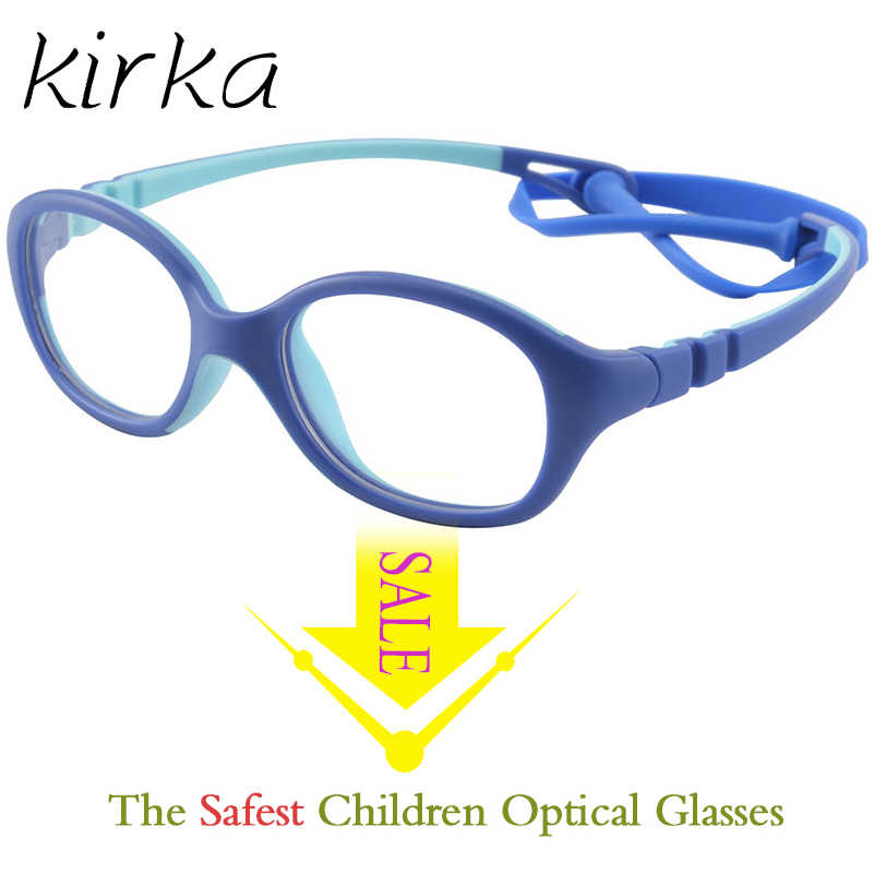 Kirka Kid Glasses Children Kids Eyeglasses Frame Brand Design Kids Cute baby Student Safe Healthy Optical Spectacles Frames