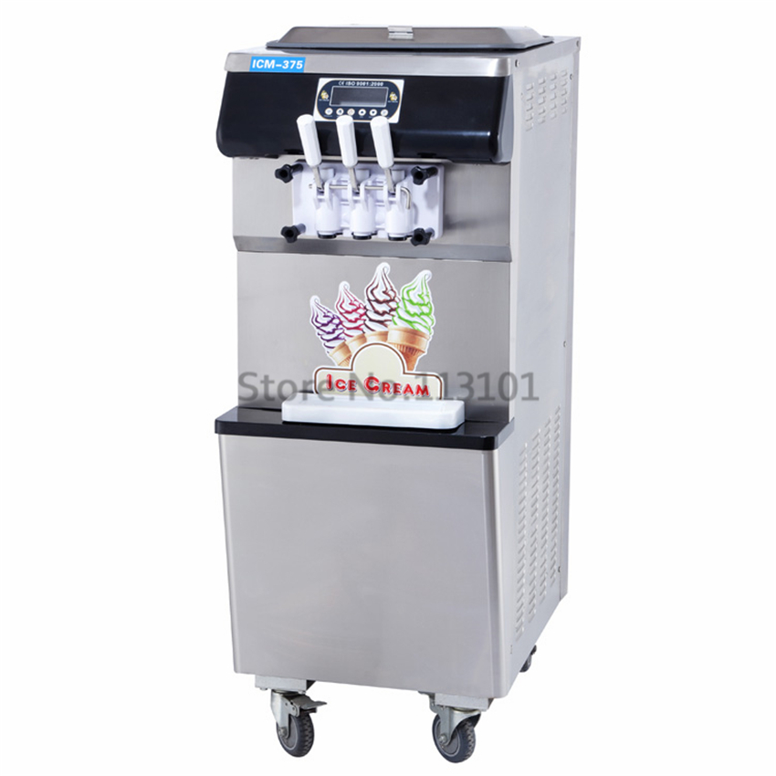 brand new intelligent commercial ice cream machine ce approval soft serve ice cream machine with. Black Bedroom Furniture Sets. Home Design Ideas