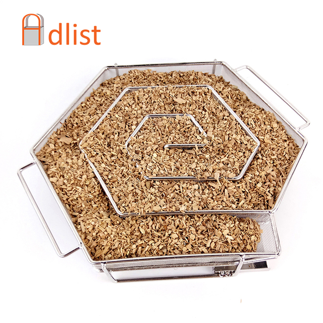 Barbecue Grill Cooking Tools Cold Smoke Generator wood chips smoker Grill Bacon Cold Smoking Meat Fish Salmon BBQ Accessories