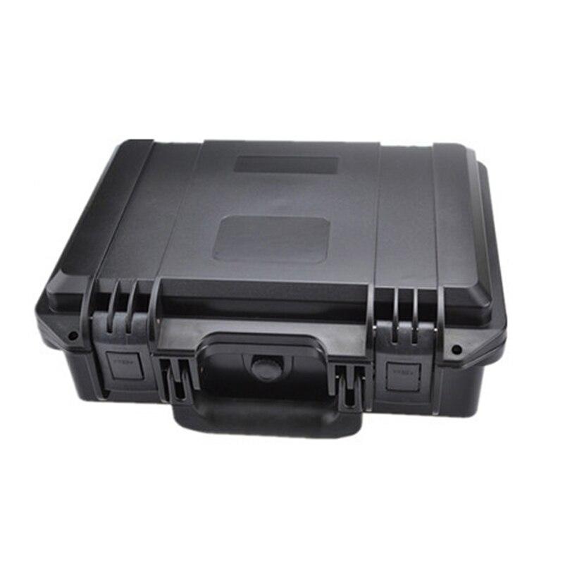 internal 380*280*135mm anti-shock plastic instrutment case with foam