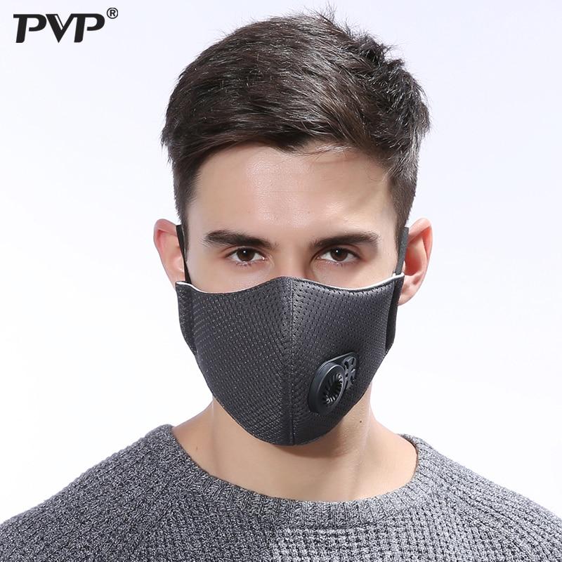 1 Pc Antipolvo Máscara De Carbón Activado Filtro De Carbón A Prueba De Viento Boca-mufla Bacterias A Prueba De La Gripe Mascarillas Para El Cuidado De La Boca Máscara