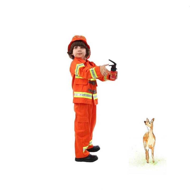 Envío libre trajes de bomberos para Niños niños de Halloween ...